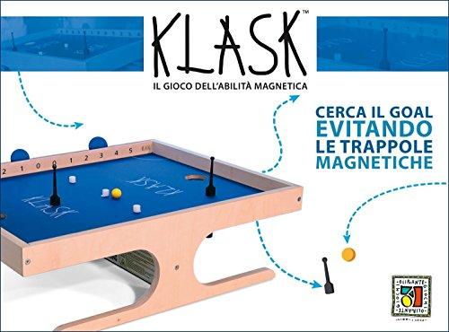Oliphante Klask 2390105 Magnetisches Lernspiel, Mehrfarbig
