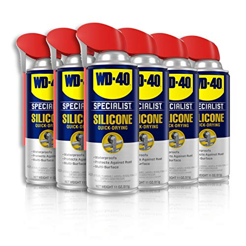 WD-40 - 300012 Specialist Silicone Lubricant with...