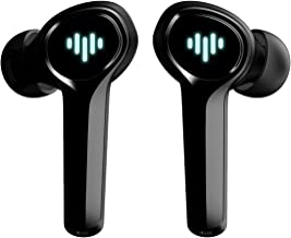 $49 » Sponsored Ad - iLuv SG100 Black Wireless Gaming Earbuds with Dynamic LED Lights, Ultra-Low Latency, Game-Audio Mode, Dual ...