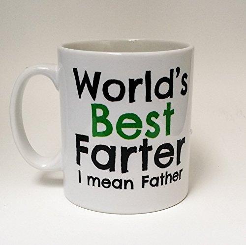Worlds best farter ~ mean father ~ regalo per la festa del papà ~ papà ~ papà compleanno ~ papà caffè ~ regalo per papà ~ primo padre giorno di The T bird