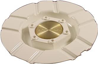 NS Racing White Custom Wheel Center Cap Set of 4 Pn: MT25-770 Hede S1050-2500W