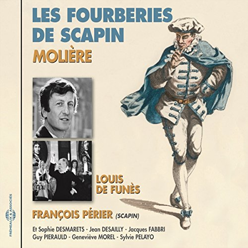 Les Fourberies de Scapin audiobook cover art