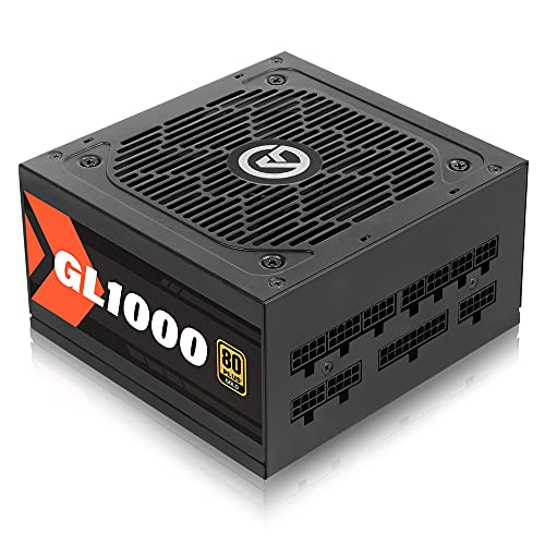 ARESGAME 1000W Power Supply 80 Plus Gold Certified Fully Modular PSU (GL1000)