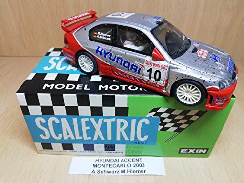 Scalextric Hyundai Accent Rally Montecarlo 2003 A Schwarz M.