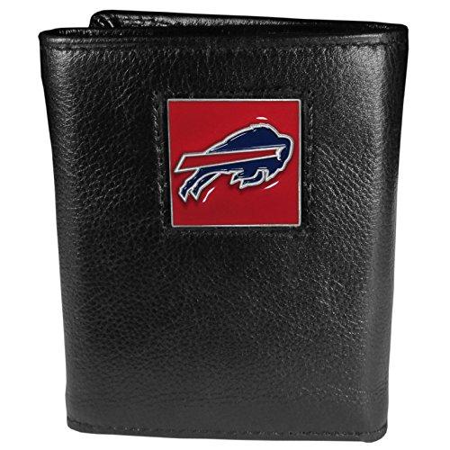 NFL Buffalo Bills Geldbörse aus echtem Leder, dreifach faltbar