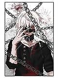 CosplayStudio Tokyo Ghoul - Puzzle de 1000 piezas, diseño de Ken y cadenas