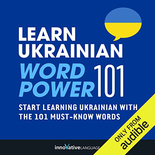 Learn Ukrainian - Word Power 101 audiobook cover art