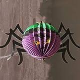 longhua Halloween Lumen Sticker Haunted House Mall Arreglo de decoración Calavera Adorno de Calabaza Adorno Fantasma Bruja Gran sandía Origami Spider