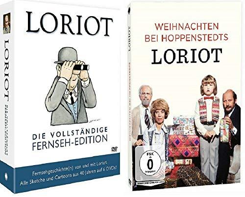 Loriot - Die vollständige Fernseh-Edition + Loriot - Weihnachten bei Hoppenstedts [DVD Set]