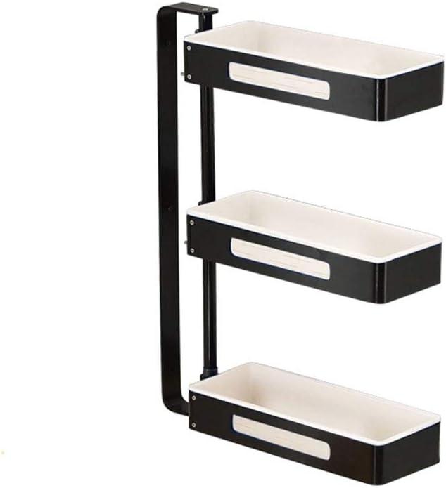 Many popular brands TYI 3-Tier Standing Cheap sale Rack Ware Hanging Punching Corner Wall Free