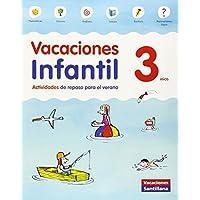 VACACIONES INFANTIL 3 AÑOS - 9788468087696