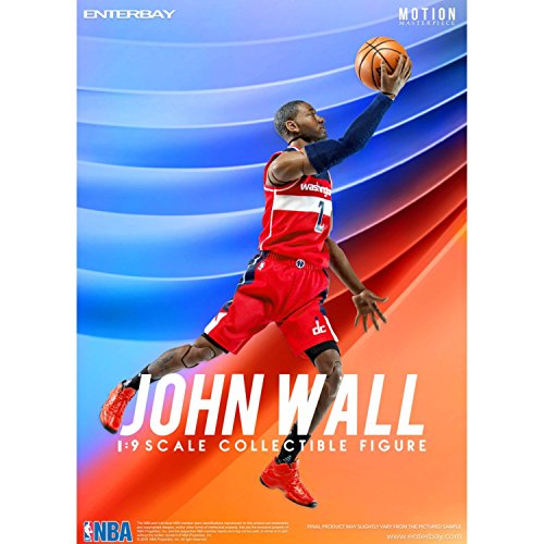 NBA Collection Motion Masterpiece Actionfigur 1/9 John Wall 23 cm Enterbay Basketball Figures