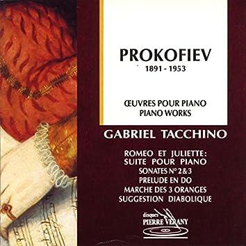 Prokofiev - Œuvres pour piano