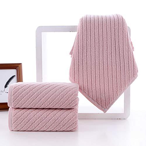 storefront Toalla de algodón cómodo Absorbente de 2 Piezas Conjunto 74 * 34 cm * 2