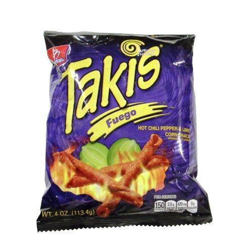 Barcel Chips Takis Fuego 4 Oz Bag