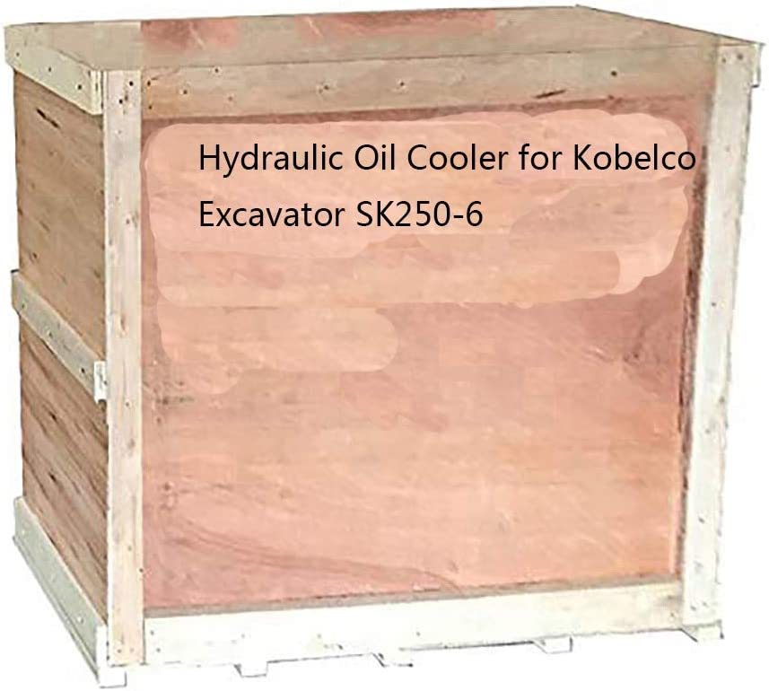 New Hydraulic Oil Cooler SK250-6 Kobelco Excavator for Gifts Max 64% OFF