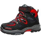 Botas de Senderismo Zapatos de Algodón Botas para la Nieve Botas de Invierno para Unisex Niños, 25 EU, 1 Negro