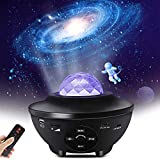 Star Projector Starry Night Light Projector with Speaker, Ocean Wave Ceiling Light Projector , Led Star Constellation...