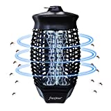 Lámpara Antimosquitos Electrico, Mata Mosquitos electrico, UV lamparas atrapa Anti Mosquitos Interior, para Mata Mosquitos, Insectos, Polillas, Moscas, Efecto 50㎡.
