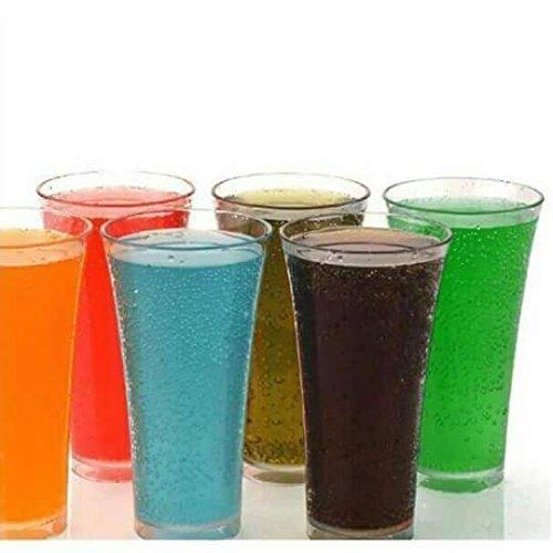 EVEN Plastic Glass - 6 Pieces, Transparent, 300 ml