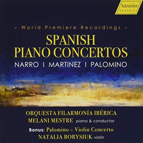 Spanish Piano Concertos-World Premiere Recordings