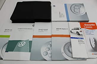 2011 Volkswagen Jetta SportWagen Owners Manual Guide