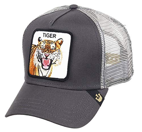 Gorra Trucker Goorin Eye of The Tiger Gris