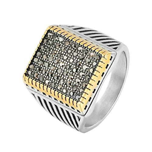 Ubestlove Unisex Rings Geometric Rings Womens Promise Rings Jewellery Fashion Ring Gold R 1/2