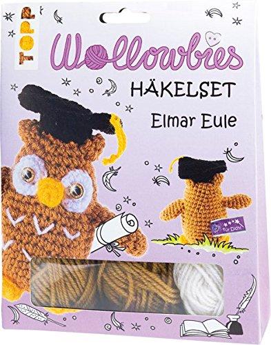 Fabelhafte Wollowbies Häkelset Elmar Eule: Anleitung, Steckbrief und Material für eine schlaue Eule