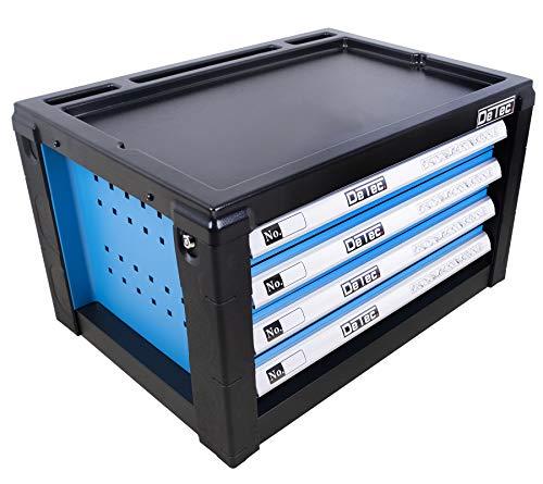 DeTec. Werkzeugkiste/Werkzeugkasten inkl. 175 tlg. Werkzeugsortiment - 2