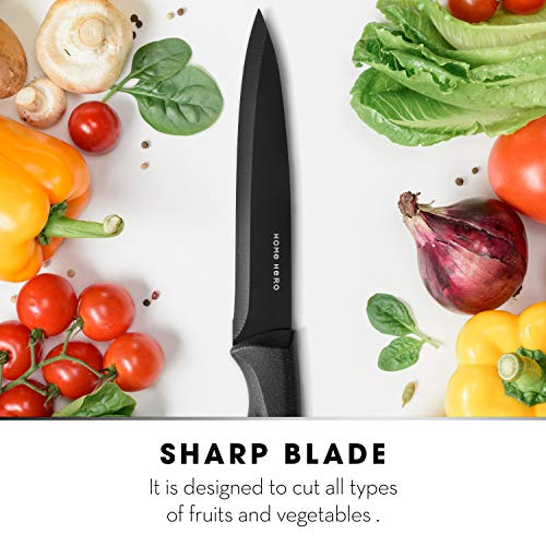 Utility Knife 5 Inches - Kitchen Utility Knife - Utility Kitchen Knife 5 Inches - Sharp Knife and Kitchen Utility Knives by Home Hero