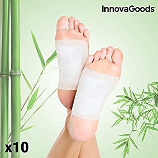 InnovaGoods IG814977 - Parches Desintoxicantes para pies (Pa
