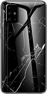 MadBee Cover per Samsung Galaxy A71 5G [con Pellicola Proteggi Schermo],Custodia Protettiva in Vetro Temperato 9H [Motivo ...