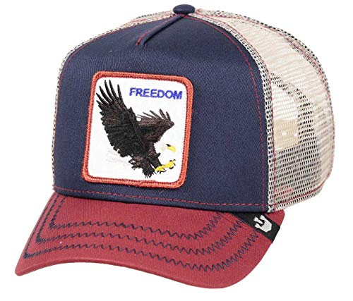Goorin Bros. Trucker Cap LET IT Ring Freedom Mehrfarbig Navy, Size:ONE Size