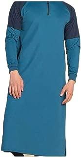 Mogogo Mens Skinny Hit Colors Shirt Long-Sleeve Pockets Pullover Tops Outwear