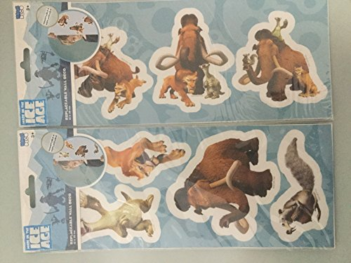 Deko Decor Sticker Aufkleber Ice Age Neu / Ovp Wandtattoo