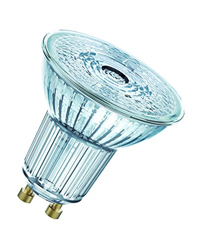 OSRAM Lot de 10 réflecteurs Spots LED | Culot GU10 | Blanc chaud | 2700 K | 5,50 W équivalent 50 W | LED SUPERSTAR PAR16