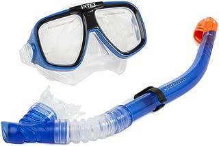 طقم سباحة وغوص مكون من نظارات وانبوب تنفس تحت الماء من انتكس، 55948