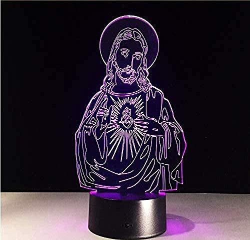 Boutiquespace Lámpara de ilusión 3D LED, luz nocturna de cocodrilo, sensor táctil, regalo para niños, hogar, animal, cocodrilo, cambio de color, el mejor regalo de Navidad para niños