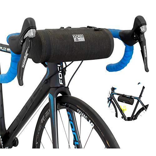 GORIX ゴリックス 高防水 フロントバッグ 自転車バッグ (GX-BF51) [ロードバイク・クロスバイク他自転車] ...