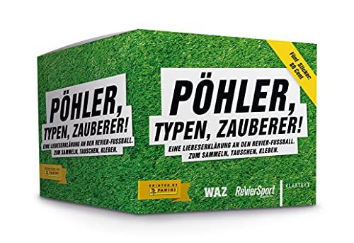 Pöhler, Typen, Zauberer. Eine Liebeserklärung an den Revier-Fußball - Panini Stickerbox