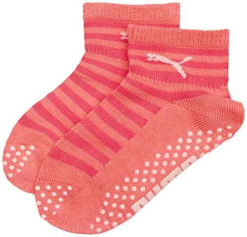PUMA Kinder Baby Sock ABS 2P , Violet Purple Combo 642 , 23-26