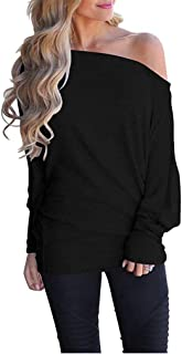 plus size black off the shoulder shirt