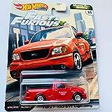 Hot Wheels Premium 2020 Motor City Muscle F&F, red Ford F-150 SVT Lightning