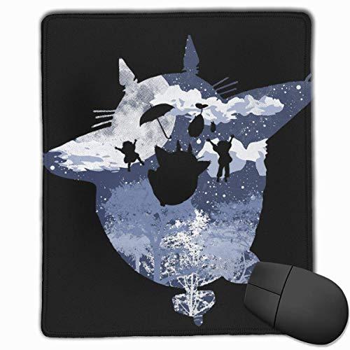WH-CLA Mouse Pad Alfombrilla De Ratón para Juegos De Computadora My Fuzziest Neighbor Alfombrilla De Goma De Mesa Personalizada 25X30Cm Alfombrilla De Ratón con Estampado De Anime Antide
