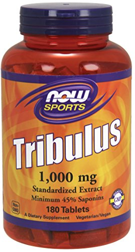 NOW Sports Nutrition, Tribulus (Tribulus terrestris) 1000 mg, 180 Tablets