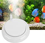 Pssopp Acuario Nano Bubble Stone Durable Air Stone Bubble Disk Nano Scale Difusor Tanque de oxígeno Redondo Bubblerfor Aquarium Fish Tank Estanques e hidroponía(1#)