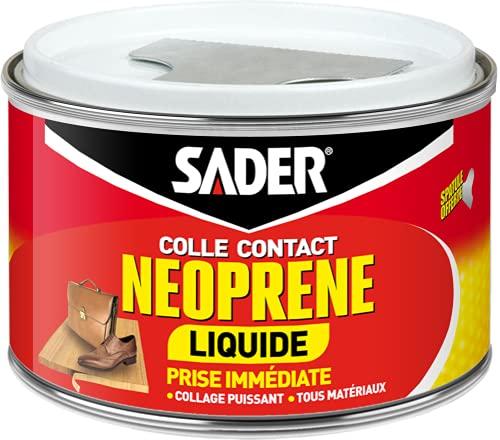 Sader Colle Contact Néoprène Liquide - Boîte de 250 ml
