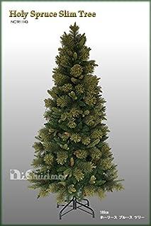 クリスマスツリー 180cmホーリースプルーススリムツリー