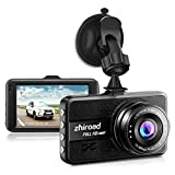 Dash Cam FHD 1080P Car Camera DVR Dashboard for Cars 3' LCD Screen with 170°Wide Angle,G-Sensor, WDR, Parking Monitor, Loop Recording Motion Detection Car Driving Recorder